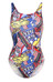 speedo New York Powerback Endurance10 - Maillot de bain Femme - Multicolore